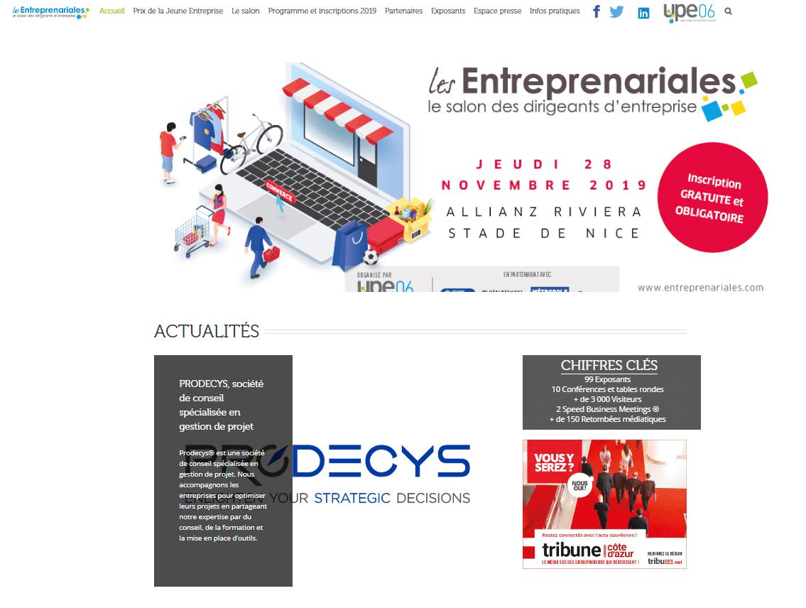 Salon les Entreprenariales